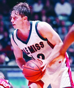 White played for Ole Miss from 1995-99 before eventually becoming an assistant under Rod Barnes and Andy Kennedy. (AP Photo/Bruce Newman, Oxford EAGLE)