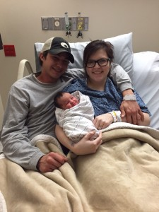 Greyce Elizabeth Harris was born at 10:50 p.m. to parents Sarah Harris and Cody Howard of Oxford.
