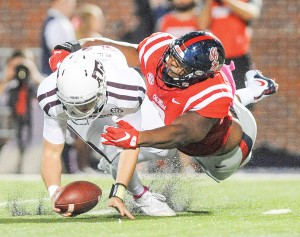 Rising sophomore Breeland Speaks is the heir apparent to Nkemdiche. (Bruce Newman)