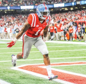 Former Ole Miss receiver Laquon Treadwell was taken 23rd overall by the Minnesota Vikings. (Bruce Newman)