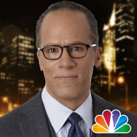 Lester Holt is the moderator of the first presidential debate.