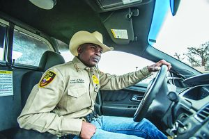 Police Chief Kenneth Hampton patrols the city of Tchula, where he has taken a no-holds-barred approach to law enforcement.